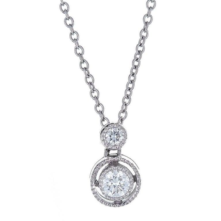 Diamond 18 Karat Gold Tacori Necklace