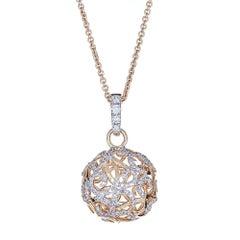 Diamond 14 Karat Gold Pendant