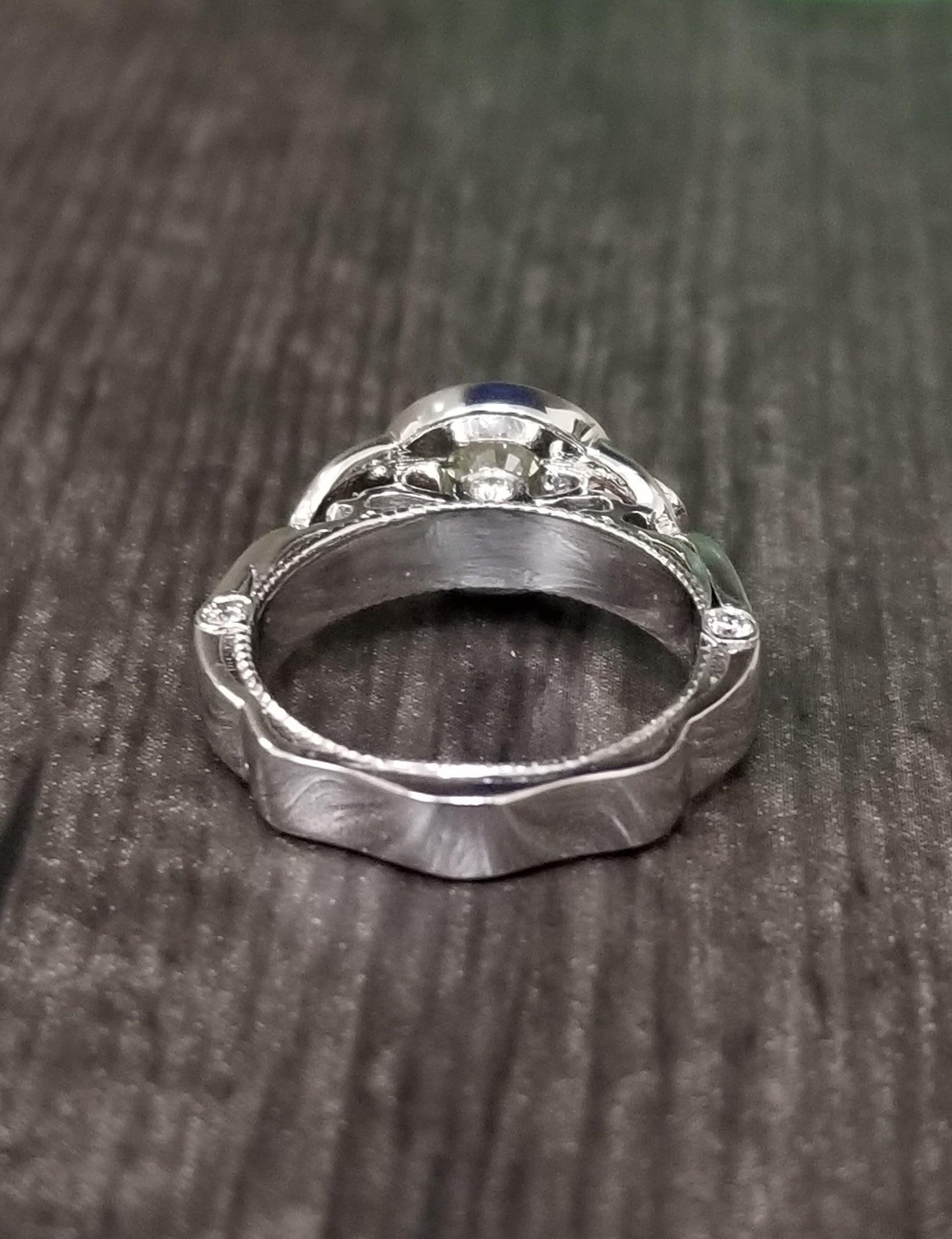 ed7850271 1.38 Carat Brilliant Cut Yellow Diamond Ring For Sale at 1stdibs