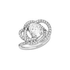 Lorenz Bäumer Pense à Moi GIA Certificate 2 Carat Diamond Solitaire Ring
