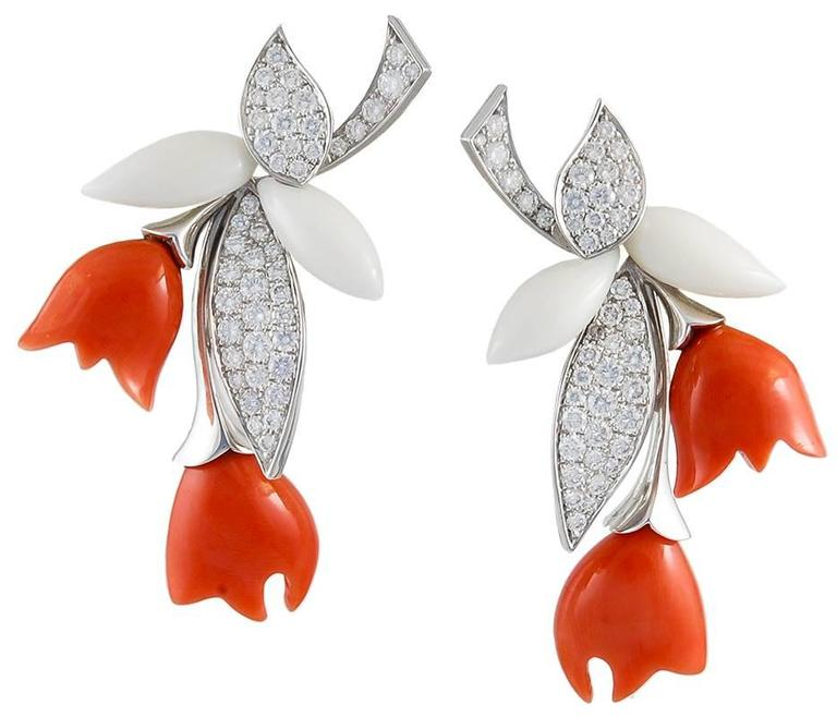 Van Cleef & Arpels Coral Diamond Gold Suite 3