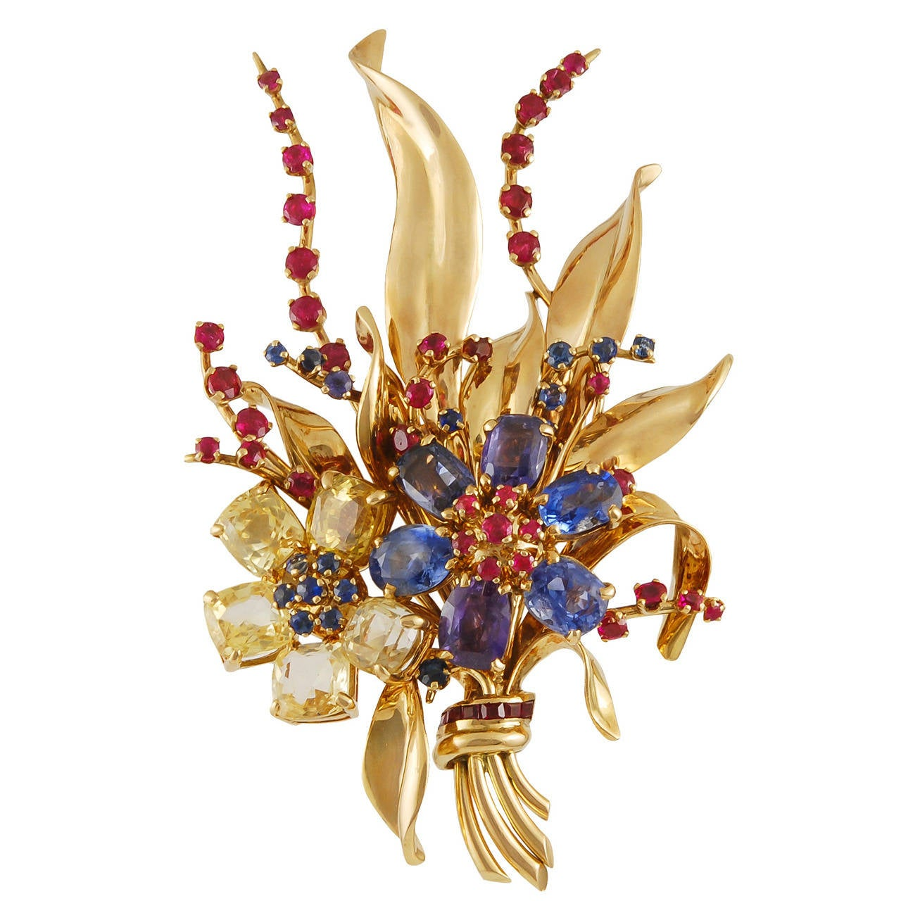 Yafa signed jewels new york ny 1stdibs page 4 - Van Cleef Arpels Flower Brooch 1