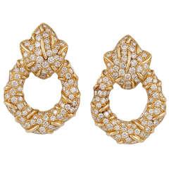 Cartier Diamond Earrings