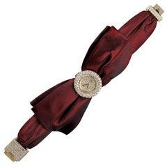 Chopard Ladiess Gold Diamond Bow Watch