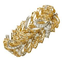 Van Cleef & Arpels Diamond Bow Bracelet