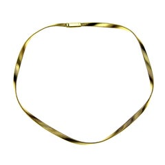 Marco Bicego 18 Karat Gold Marrakech Supreme Single Strand Collar Necklace