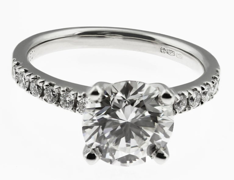 GIA Certified Diamond 2.21 Carat G VS1 Single Stone Solitaire Engagement Ring 4