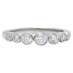 "Tiffany & Co. 0.35 Carat Diamond and Platinum ""Jazz"" Ring, CA, 2004"