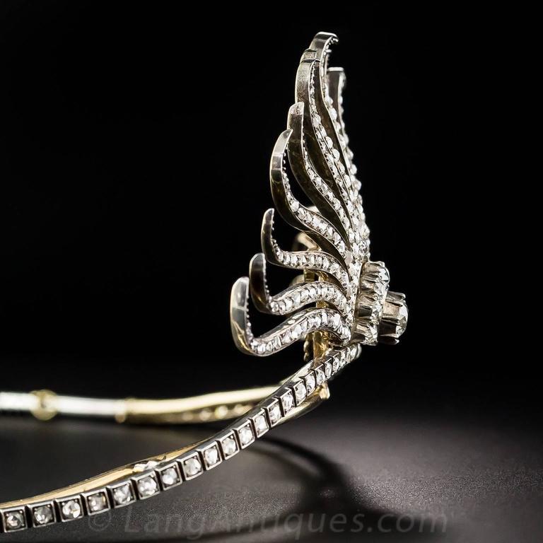 Victorian Diamond Tiara 4