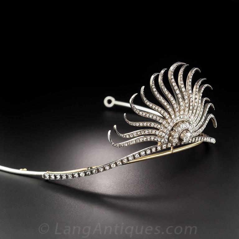 Victorian Diamond Tiara 6