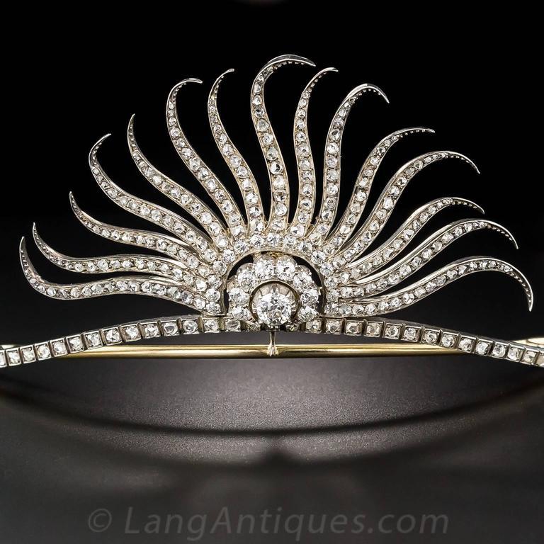 Victorian Diamond Tiara 2
