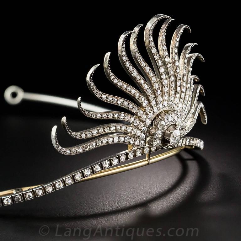 Victorian Diamond Tiara 3