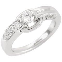 Picchiotti Platinum Diamond Engagement Ring