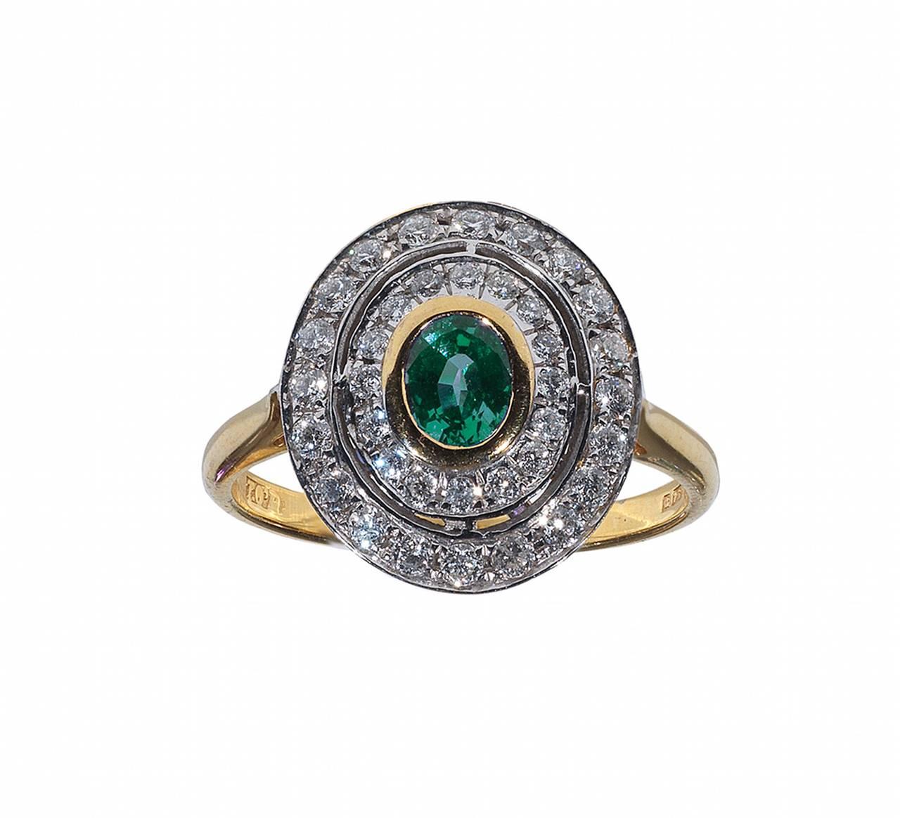 Alexandrite Class Ring Gold Alexandrite Diamond Go...