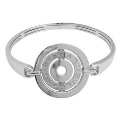 Bulgari Astrale White Gold Bangle Bracelet