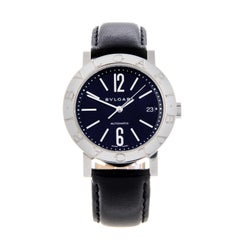 Bulgari a Gentleman's Bulgari Wristwatch