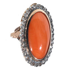 Large Cluster Ring Gallery Collet