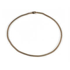 Fope Flexible Gold Necklace