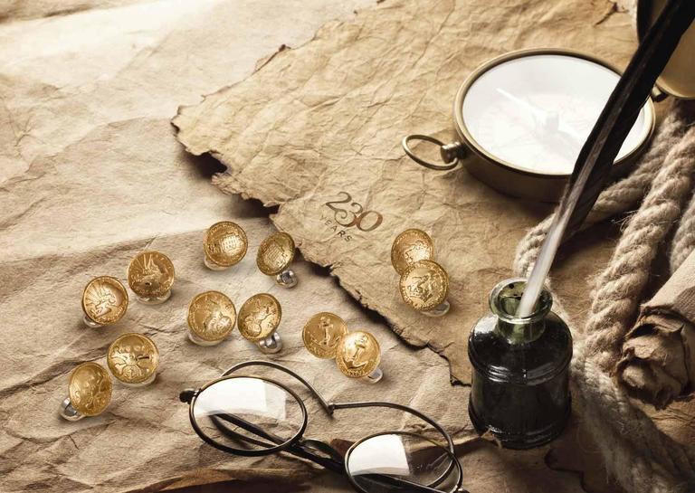 Women's or Men's Deakin & Francis Sterling Silver 230 Coin Cufflinks Regents Place For Sale