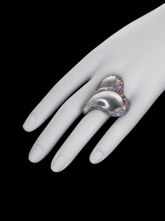 Naomi Sarna Confetti Heart Ring For Sale 3