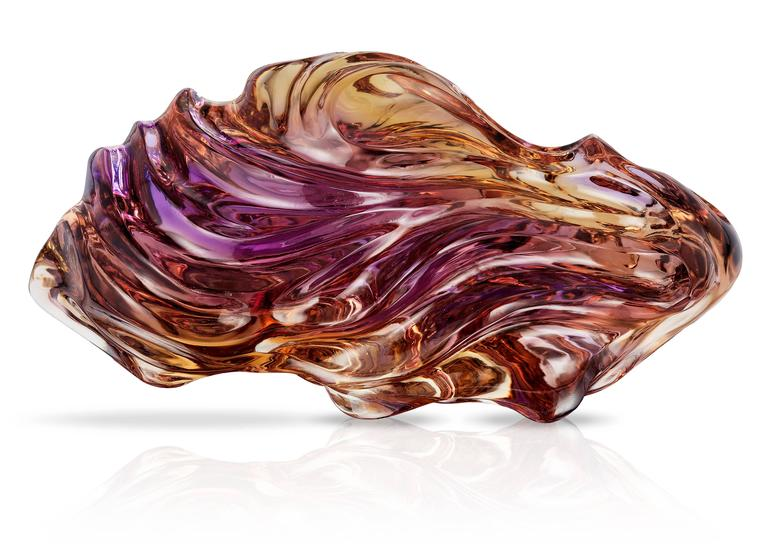 Naomi Sarna Award Winning Ametrine Carving In New Condition For Sale In New York, NY