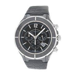 New Men's Versace DV One Steel Ceramic Chrono Quartz Watch