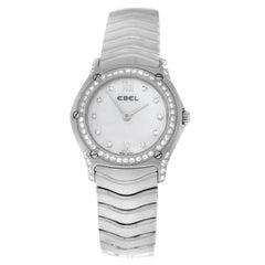 Authentic Ladies Ebel Classic Wave Diamond Quartz Watch