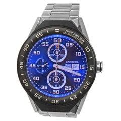 Men's TAG Heuer Connected Titanium Digital Rechargeable Watch