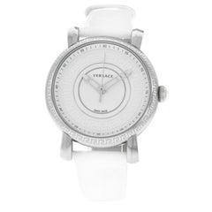 Authentic New Versace Day Glam Steel Quartz Watch