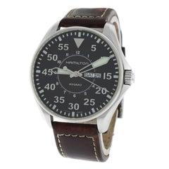 Authentic Men's Hamilton Khaki Aviation Pilot H646110 Quartz Watch