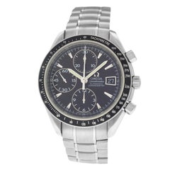 Authentic Men's Omega Speedmaster 3210.50 Steel Chronograph Automatic Watch