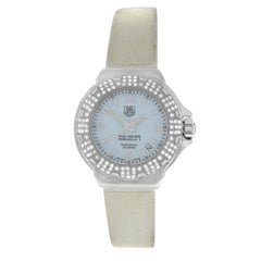 Ladies TAG Heuer Formula Stainless Steel Diamond Quartz Watch