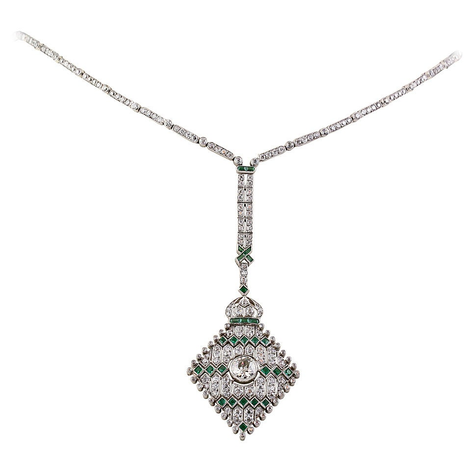 company marcasite art the deco antique shop silver jewellery necklace