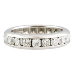 Tiffany & Co. Lucida Diamond Platinum Band