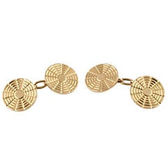BOUCHERON Paris Estate Gold Cufflinks