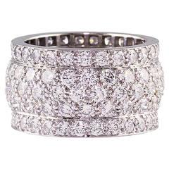 Cartier Classic Diamonds Diamond Gold Band
