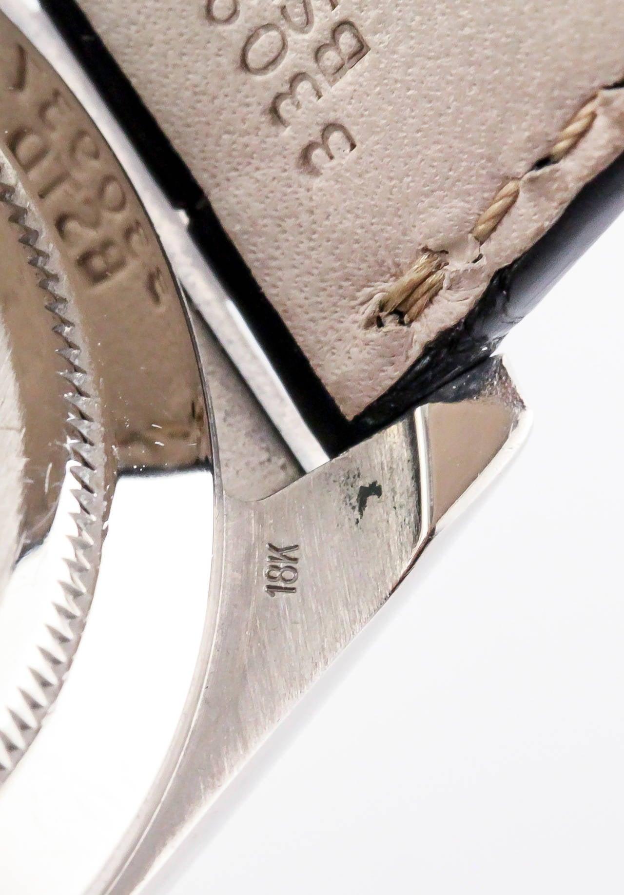Rolex White Gold Daytona Chronograph Automatic Wristwatch 6