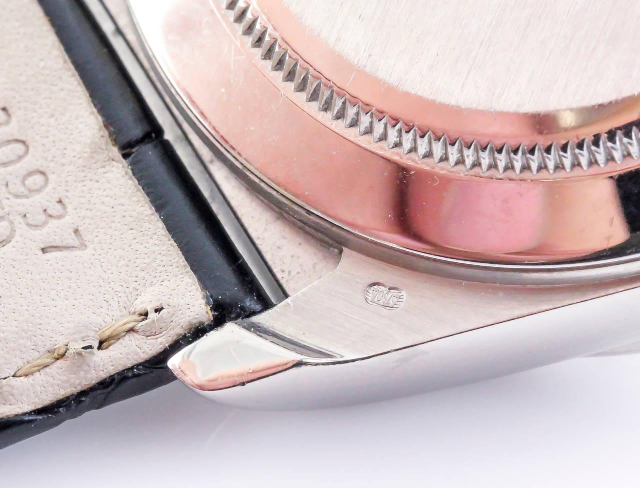 Rolex White Gold Daytona Chronograph Automatic Wristwatch 7
