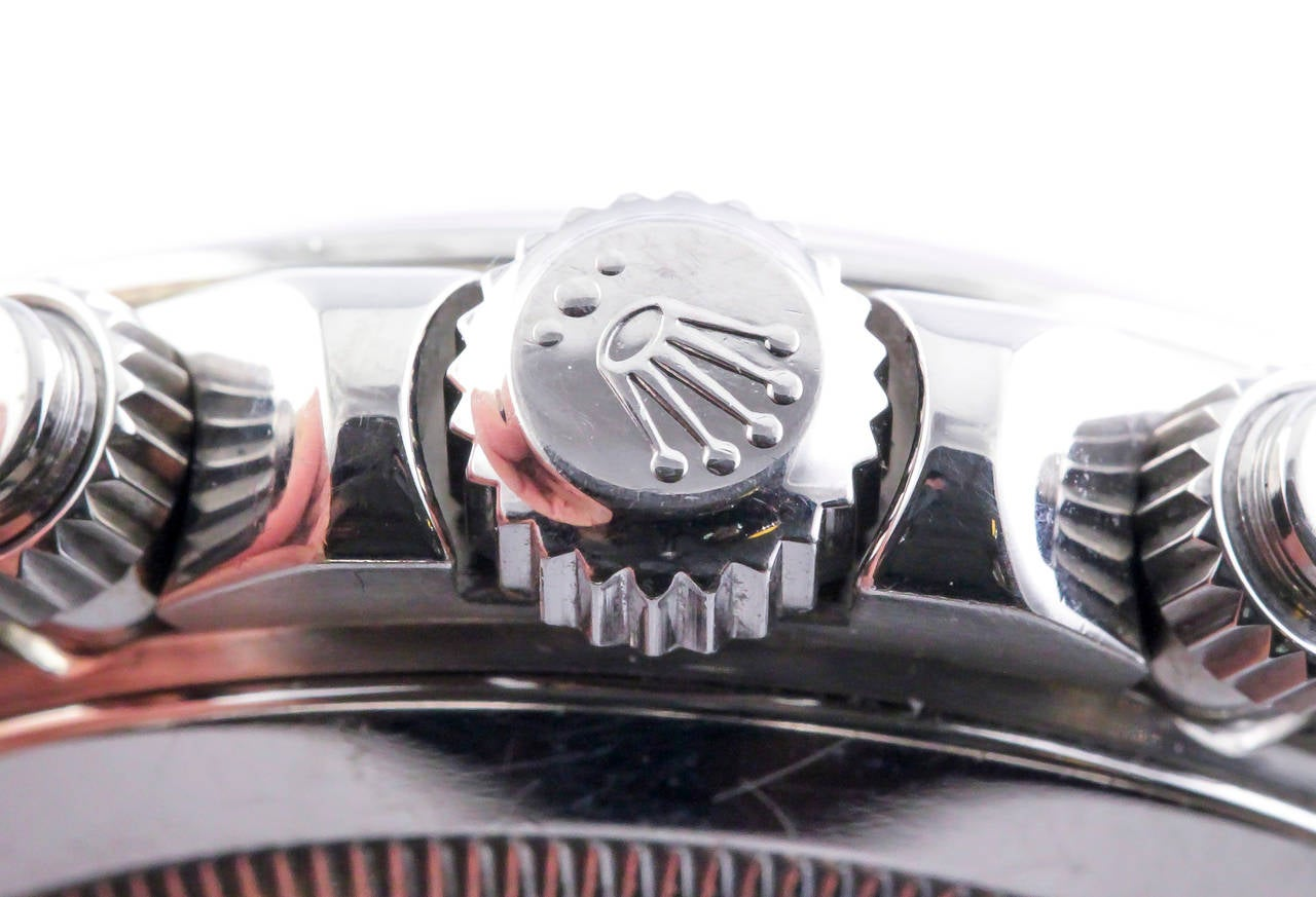 Rolex White Gold Daytona Chronograph Automatic Wristwatch 9