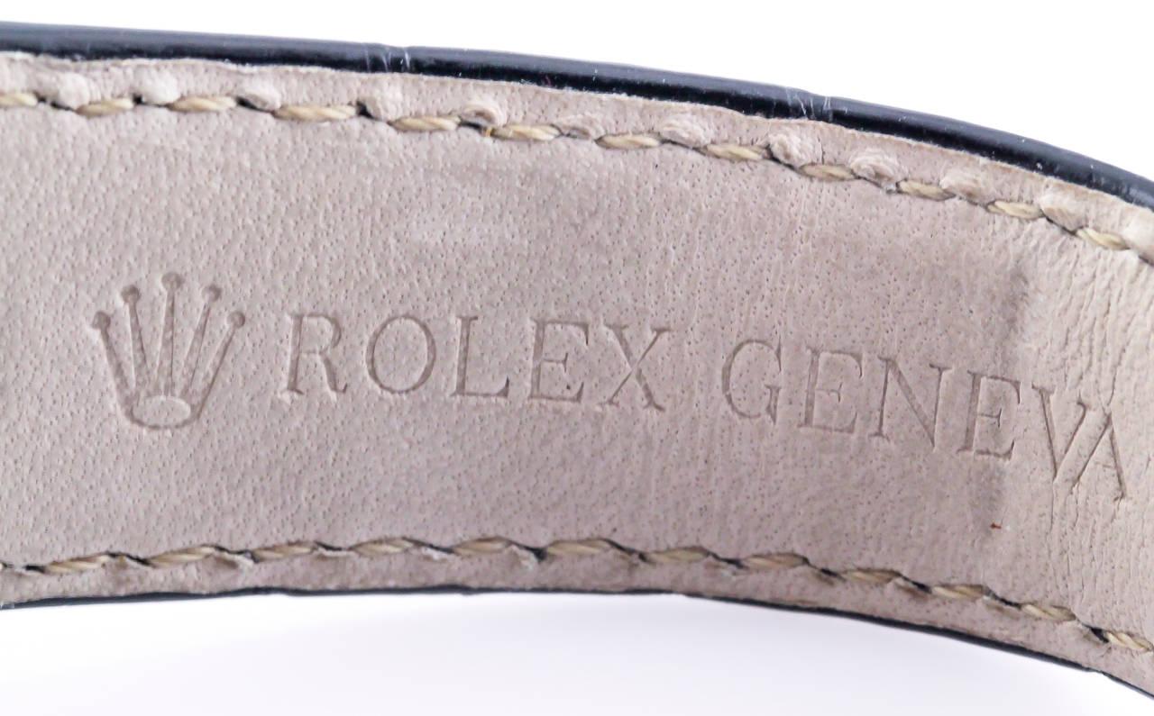Rolex White Gold Daytona Chronograph Automatic Wristwatch 10