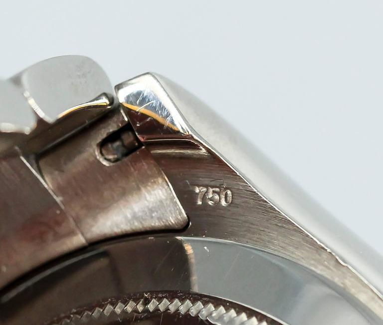Rolex White Gold Cosmograph Daytona Z Series Black Dial Wristwatch 5