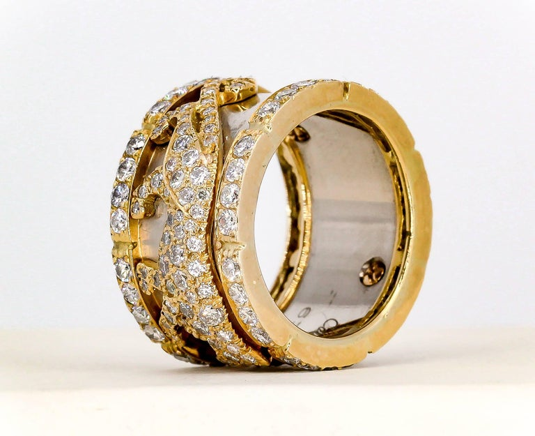 Cartier Panther Diamond and Gold Band 2