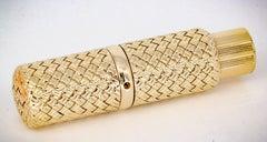 Van Cleef & Arpels Gold Perfume Atomizer