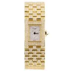 Chaumet Ladies Yellow Gold Diamond Quartz Wristwatch
