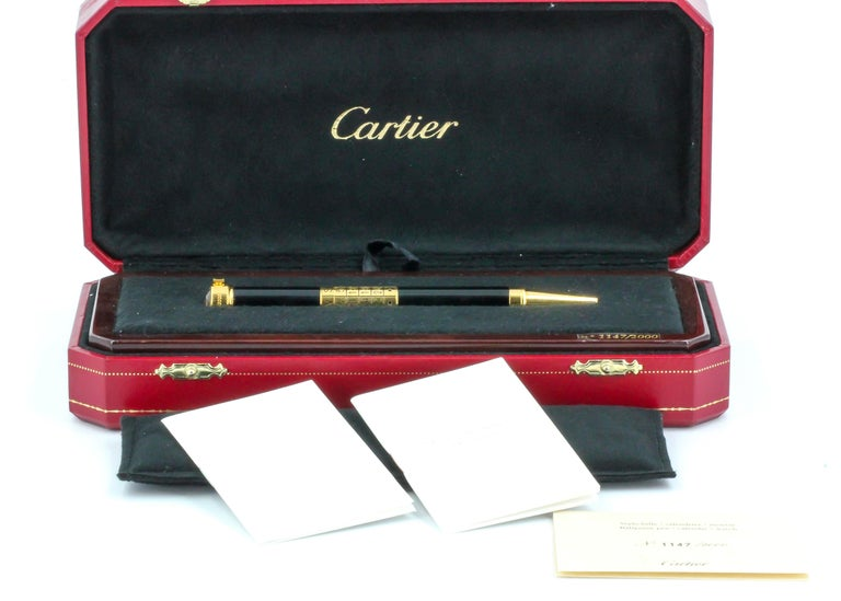 Cartier Perpetual Calendar Limited Edition Watch Pen For Sale 5