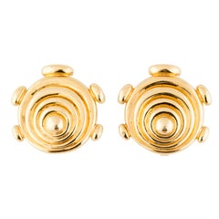 Cartier Aldo Cipullo Gold Earclips