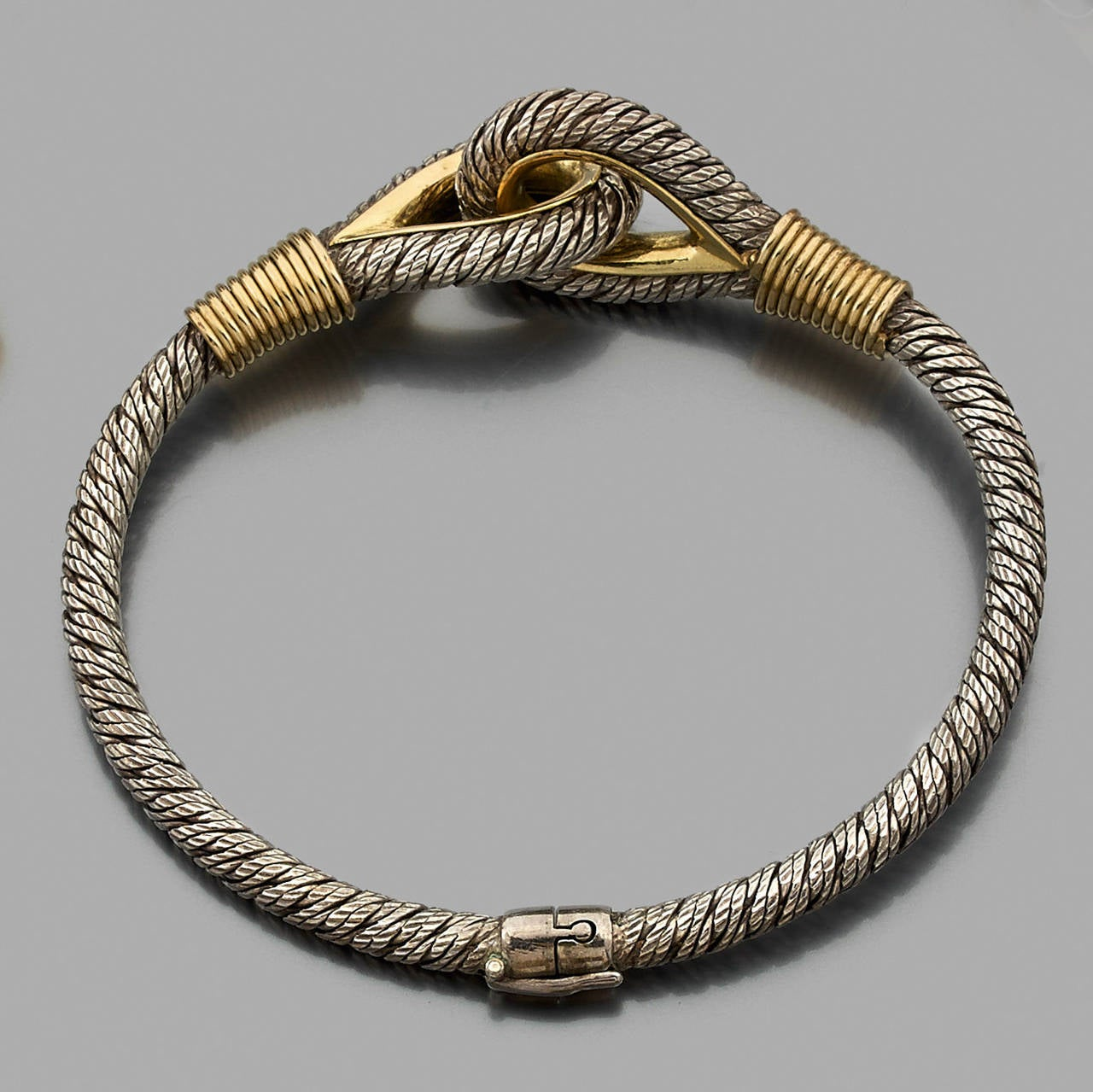 Fred Silver And Gold Nautical Bracelet At 1stdibs