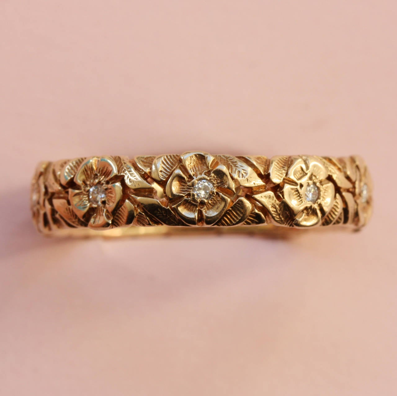 Tiffany Gold Heart Ring