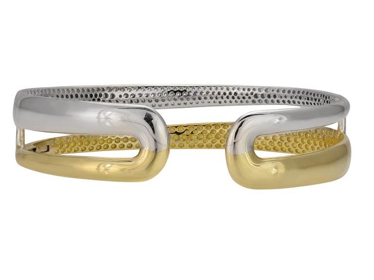Round Cut Roberto Coin Scalare Diamond Bracelet For Sale