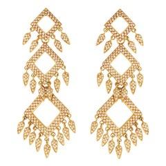 Delilah Diamond Pavé Earrings